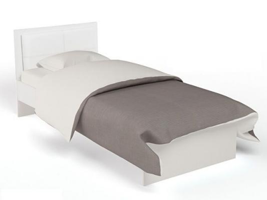 Кровать классика Extreme с кожаным изголовьем