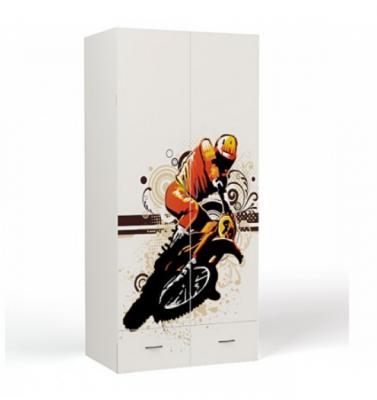 Шкаф 2-х дверный EX-1007 Extreme Moto