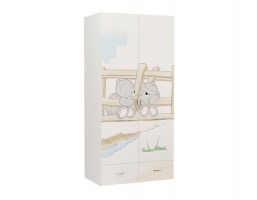 Шкаф 2-х дверный BR-1007 Bears