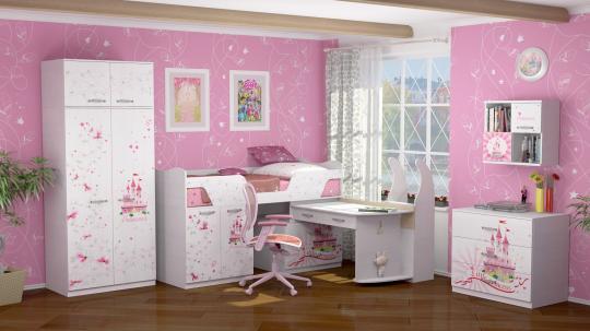 Мебель для детской Принцесса -1