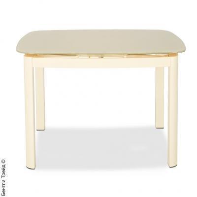 Стол обеденный DT 6236 C Milk(H31) Шелк