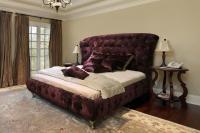 Кровать кожаная двуспальная Elizabeth (Soft Bad)