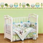 Комплект SUMMER OWLS (для кроватей 120*60) 7 предметов