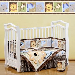 Комплект LEO JUNGLE (для кроватей 120*60) 7 предметов