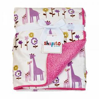 Плед Жирафы