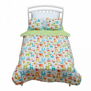 Покрывало с подушками Safari kids