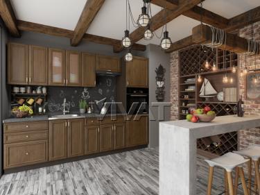 Кухня Шале-01