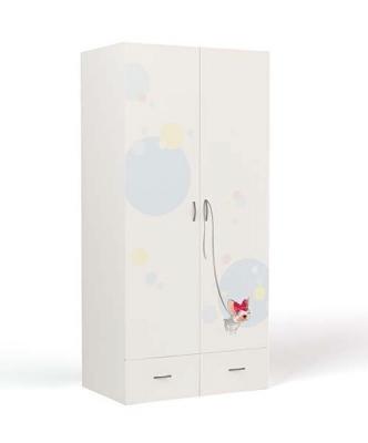 Шкаф 2-х дверный ML-1007 Molly