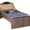 Кровать классика №1 Pirat  (1600х900 мм.  - дуб)