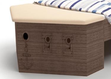 Ящик для игрушек/нос кровати Pirat