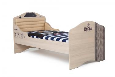 Кровать классика №2 Pirat комбинированная