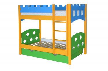 Детская двухъярусная кровать Ланцелот