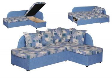 Угловой диван Арина (пружинный блок)