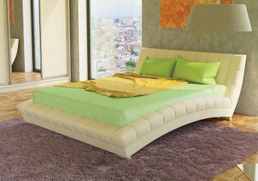 Интерьерная кровать Оливия 160 с ортопедическим основанием
