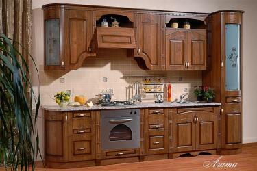 Кухня Агата прямая 3,25 караваджо