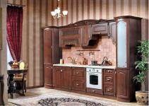 Кухня Мадлен прямая 3,60, текстура караваджо