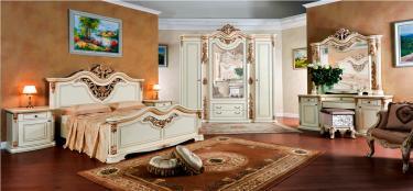 Спальня Габриэлла крем