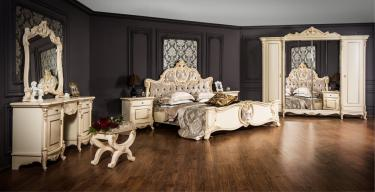 Спальня Лорена крем