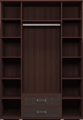 Шкаф для одежды с ящиками 4-х дверный (с зеркалами) 01 Аргентина-1