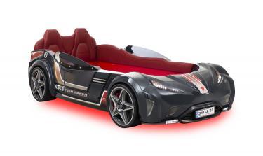 Кровать-машина GTI Антрацит CARBED 1331