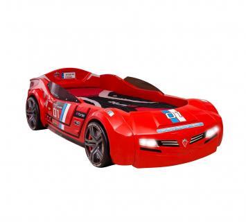 Кровать-машина BITURBO красная CARBED 1334