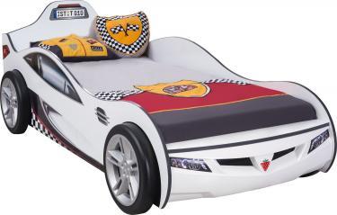 Кровать-машина Coupe белая Carbed 1308
