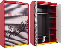Шкаф трехдверный Champion Racer 1002