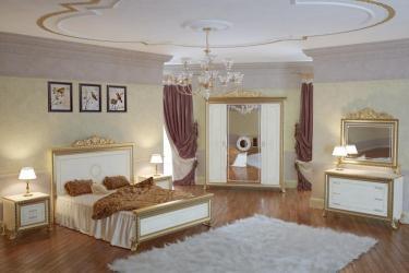 Спальня Версаль (слоновая кость) вариант 2