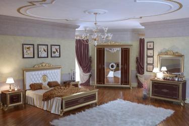 Спальня Версаль (тайский орех) вариант 1