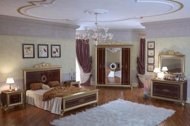 Спальня Версаль (тайский орех) вариант 2