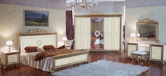 Спальня Версаль (слоновая кость) вариант 4