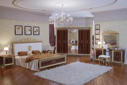 Спальня Версаль (тайский орех) вариант 3