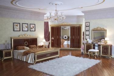 Спальня Версаль (тайский орех) вариант 4