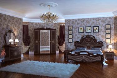 Спальня Грация (тайский орех) вариант 1