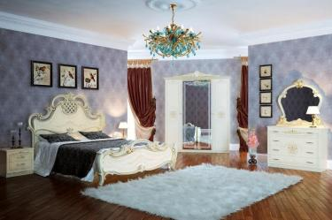 Спальня Грация (слоновая кость) вариант 1