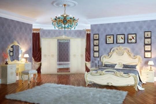 Спальня Грация (слоновая кость) вариант 2