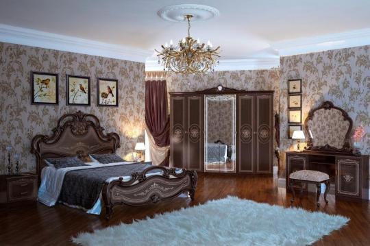 Спальня Грация (тайский орех) вариант 2
