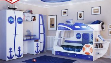 Детская комната Парус (Яхта-2) комплект