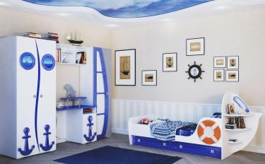 Детская комната Парус (Яхта-1) комплект