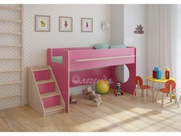 Детская кровать от 3 лет Легенда 23.2