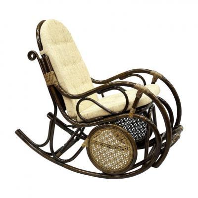 Кресло-качалка с подножкой 05/10