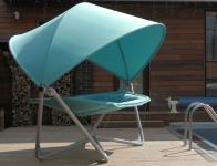 Подвесное кресло гамак ИБИЦА (цвет бирюзовый)