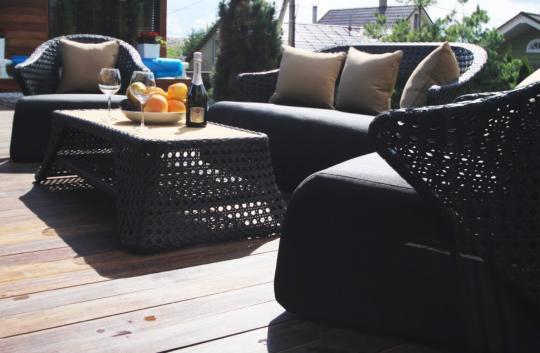 Набор мебели из искусственного ротанга лаунж-сет CHAILD