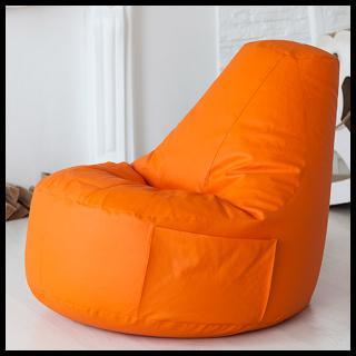 Кресло мешок Comfort Orange (экокожа)