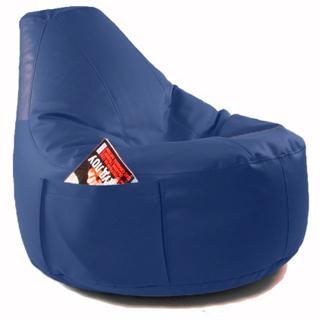Кресло мешок Comfort Indigo (экокожа)