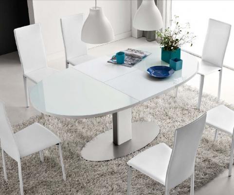 Стол деревянный THESIS CB/4756-E белый