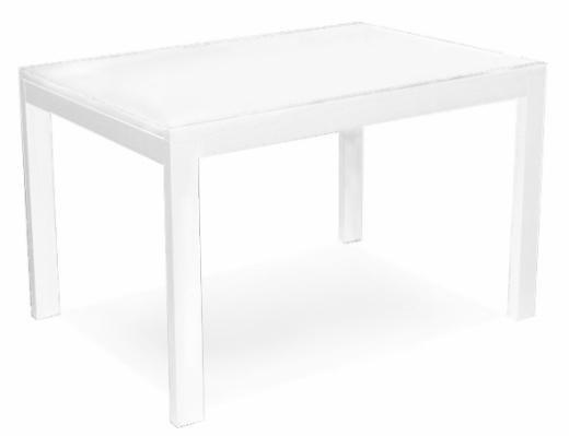 Стол деревянный NEW SMART 130 белый