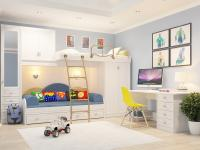 Подростковая комната Итальянские Мотивы 2 белый рамух