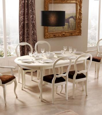 Обеденный стол Panamar модель 405 (180) белый