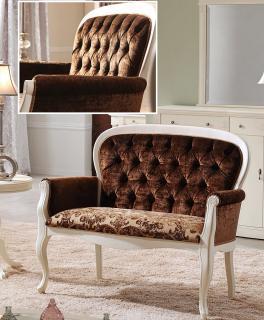 Диван (широкое кресло) Panamar модель 429 (120) белый